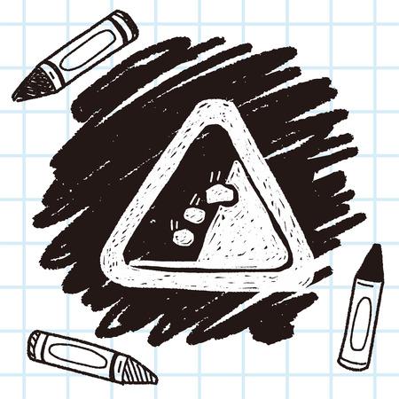 Rockfall doodle