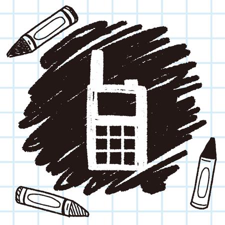 handheld: handheld transreceiver doodle