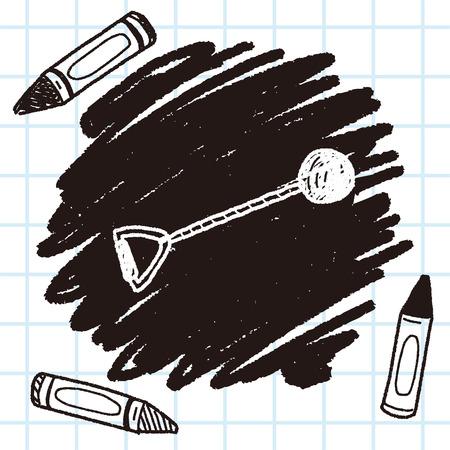 shot put: shot put doodle