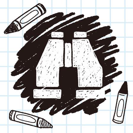 binocular: doodle binocular