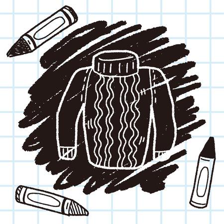sueter: suéter del doodle