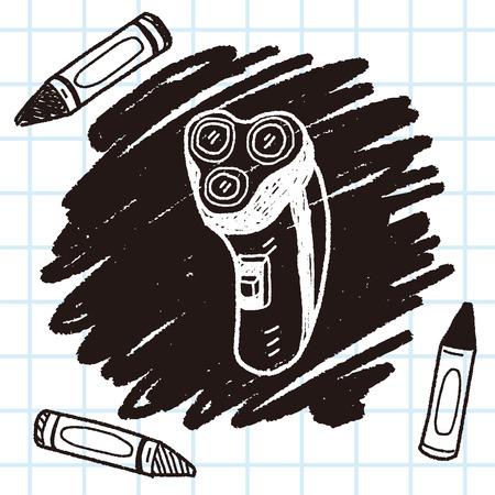 shaver doodle