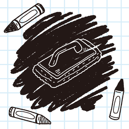 janitorial: cleaning tool doodle