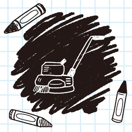 janitorial: floor buffing machines doodle