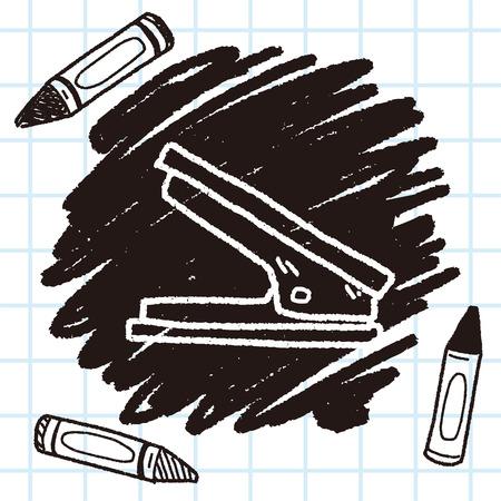 stapler: Grapadora garabato