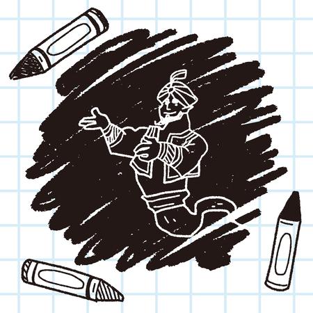 jinn doodle