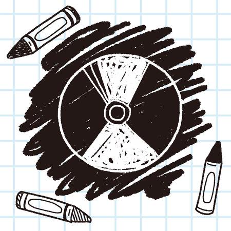 dved doodle Illustration