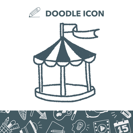 doodle tent Vector  sc 1 st  123RF Stock Photos & Doodle Tent Royalty Free Cliparts Vectors And Stock Illustration ...