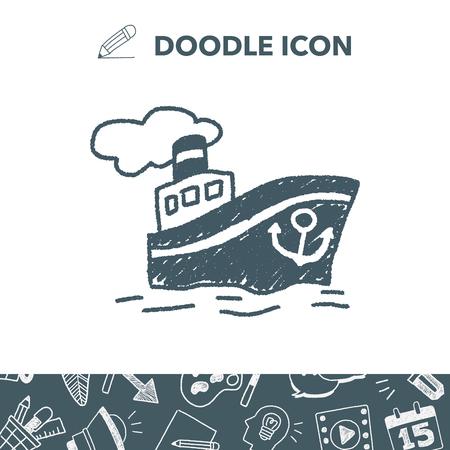 steamship: doodle Steamship