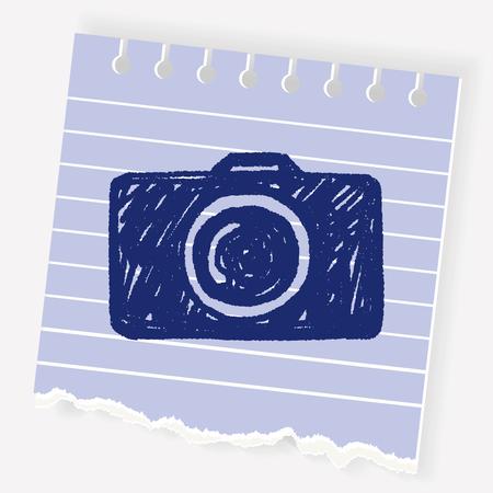 Doodle Camera Stock Vector - 74815117