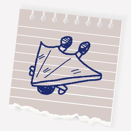 Deltaplano arrampicata Doodle