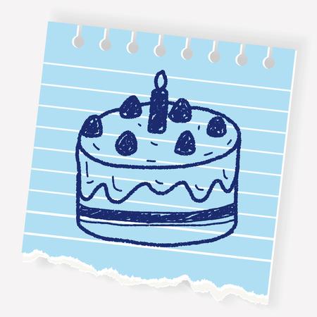chocolate swirl: doodle cake