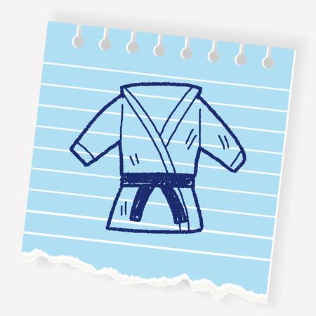 Martial Arts Uniform Illustration