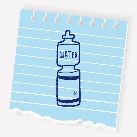 jarra de cerveza: Bebida energética del doodle