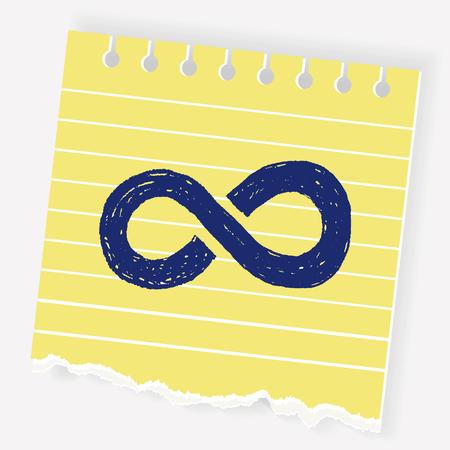 Unlimited doodle Illustration