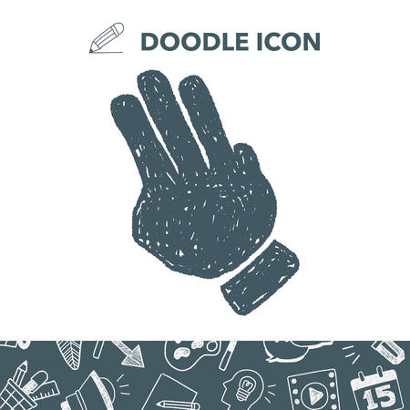 touch screen interface: Gesture doodle