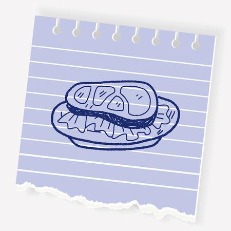 cookout: doodle steak