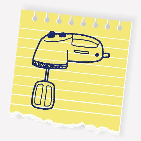 mixer doodle
