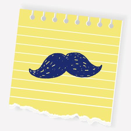 beard doodle Illustration