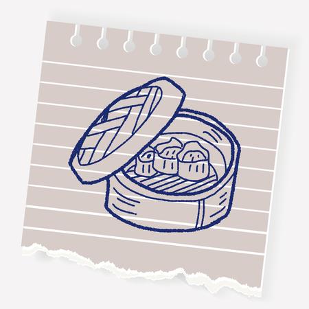 fresh idea: dumpling doodle