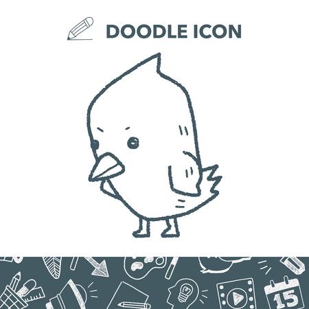 Chick doodle