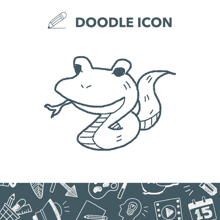 snake doodle