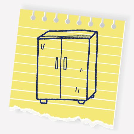 kitchen cabinets: Cabinet doodle