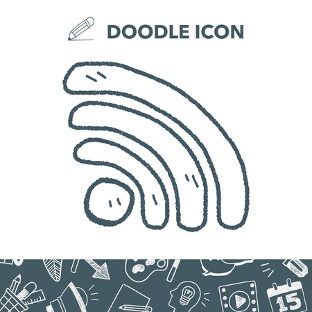 wireless icon: doodle wifi