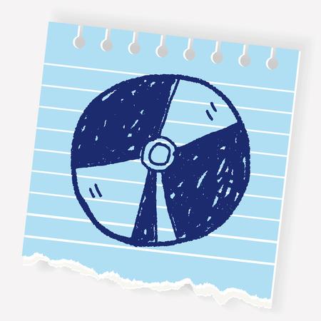 dvd doodle Illustration