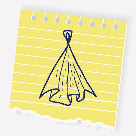 rag: Rag doodle Illustration