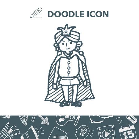 Prince doodle.