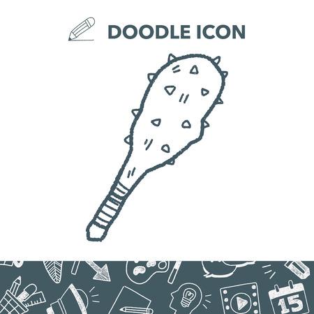 mace: iron mace doodle