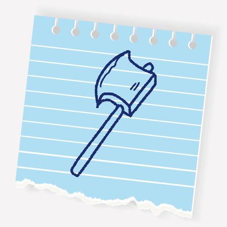 ax doodle Illustration