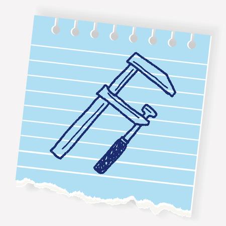 Measuring tool doodle