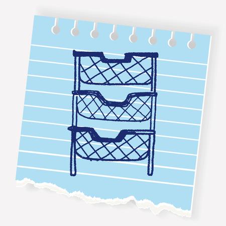 case: file case doodle Illustration