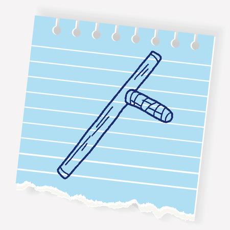 Baton doodle Çizim