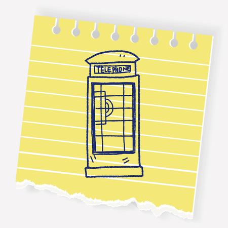 Telefooncel doodle