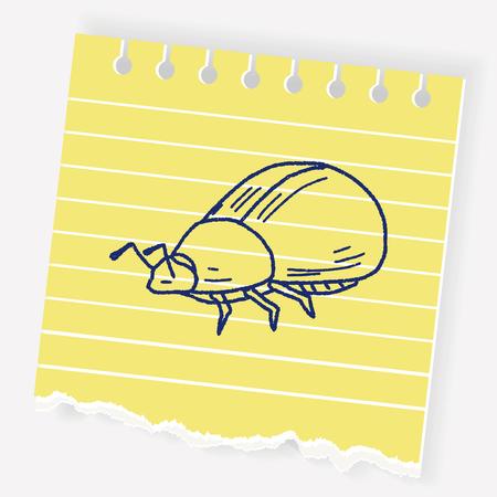 ladybug: Insect doodle