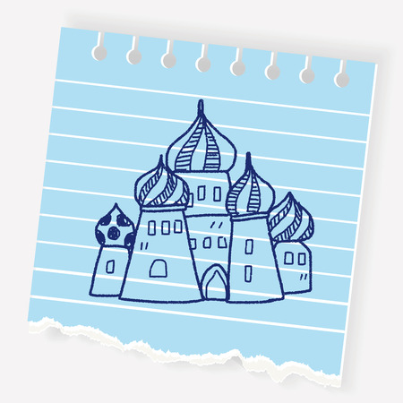 Russia Tower doodle