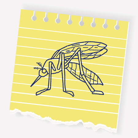 Mosquito doodle