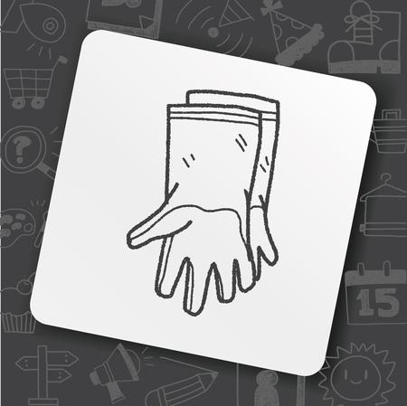 Clean glove doodle