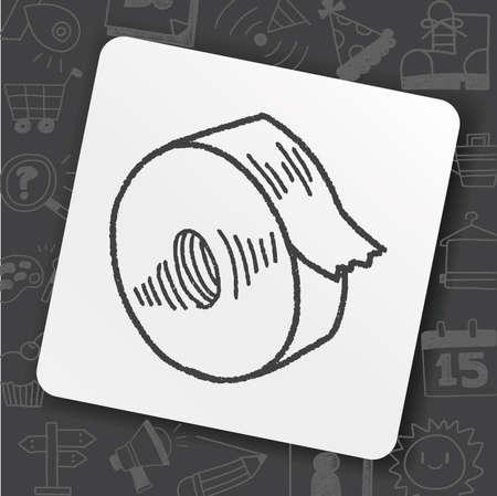 tape doodle Banque d'images - 98612681