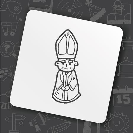 Bishop doodle