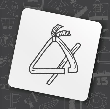 Triangle doodle