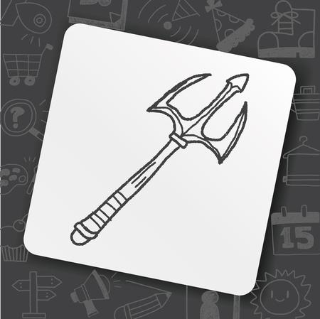 spear doodle