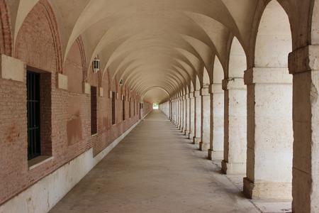 Perspectiva histórica en Aranjuez, España Foto de archivo