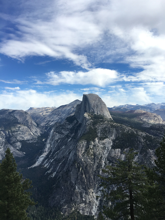 Half Dome in Yosemite, California