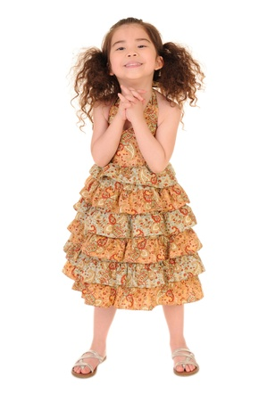 happy little girl  Stock Photo - 13509722