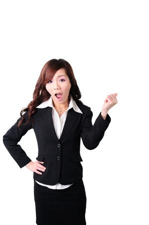 screamingly woman Stock Photo - 13668195