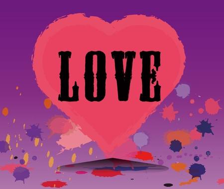 love couples: Love heart